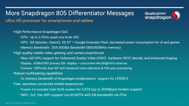 snapdragon 805