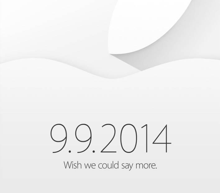 Apple Event am 9. September 2014 bestätigt