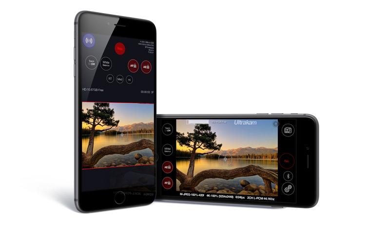 4K Videos mit iPhone 6 & iPhone 6 Plus durch Ultrakam App