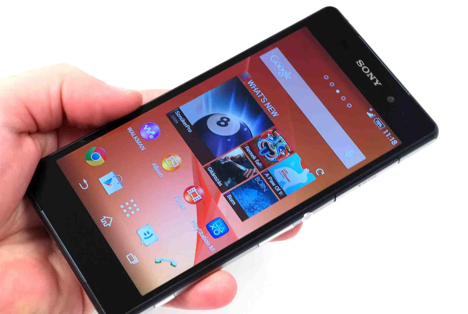 Sony Xperia Z2 die Weiterentwicklung des Xperia Z1 mit 4k-Video-Kamera